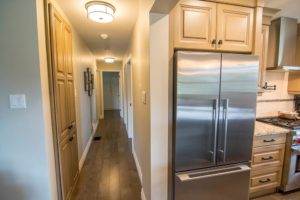Fridge with cabinetry