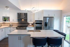 Kitchen Cabinets, granite tops